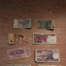 Billetes extranjeros: LOTE DE BILLETES ESTRANJEROS. Lote 108838627