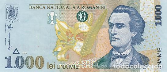 RUMANIA- 1000 LEI (Numismática - Notafilia - Billetes Extranjeros)