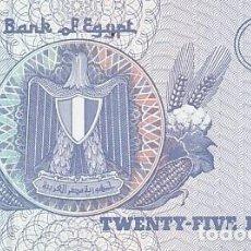 Billetes extranjeros: EGIPTO- 25 PIASTRAS. Lote 109061959