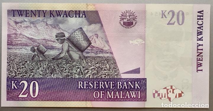 MALAWI. 20 KWACHA (Numismática - Notafilia - Billetes Extranjeros)