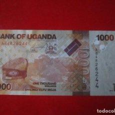 Billetes extranjeros: UGANDA. BILLETE DE 1000 SHILLINGS. 2010. Lote 109333851