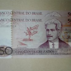 Billetes extranjeros: BILLETE BANCO DO BRASIL 50 CRUZADOS S/C. Lote 113170363