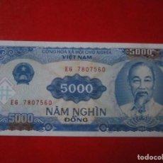 Billetes extranjeros: VIETNAM. BILLETE DE 5000 DONG. 1991. Lote 109366863