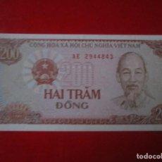 Billetes extranjeros: VIETNAM. BILLETE DE 200 DONG. 1987. Lote 109367227