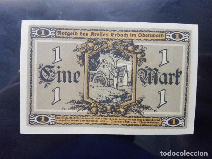 Billetes extranjeros: Alemania notgeld 1 marco, Erbalch 1-4-1919 (SC) - Foto 2 - 110716223