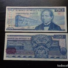 Billetes extranjeros: MEXICO - 50 PESOS - (27 ENE. 81) - SERIE JN - S/C. Lote 126058523