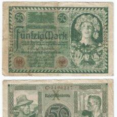 Billetes extranjeros: ALEMANIA - GERMANY 50 MARK 1920 PICK 68. Lote 111545243