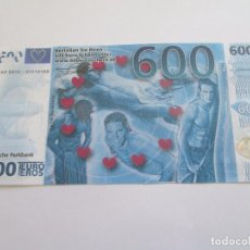 Billetes extranjeros: BILLETE DE 600 EUROS -EROS - FANTASIA. Lote 112676275