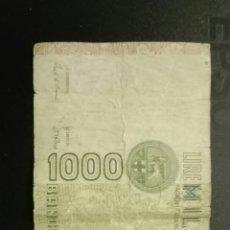 Billetes extranjeros: 1000 LIRE MILLE. Lote 113348320