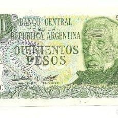 Billetes extranjeros: BILLETE 500 PESOS, ARGENTINA. Lote 114202167