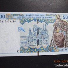 Billetes extranjeros: ESTADOS DEL AFRICA DEL OESTE, BILLETE DE 5,000 FRANCOS, K, SENEGAL.. Lote 114779071
