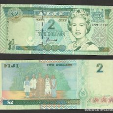 Billetes extranjeros: FIJI 2 DOLLARS 1996 PICK 96B - S/C. Lote 115085435