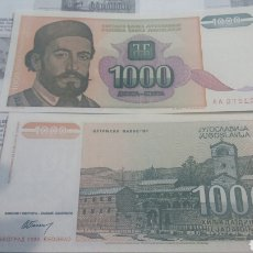Billetes extranjeros: YUGOSLAVIA 1000 DINARA 1994 SC KM140. Lote 115384622