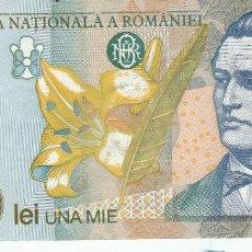 Billetes extranjeros: RUMANIA- 1000 LEI-2001-SC. Lote 116293535