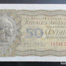 Billetes extranjeros: ARGENTINA. BILLETE DE 50 CENTAVOS. 1947. EBC +.. Lote 116468887