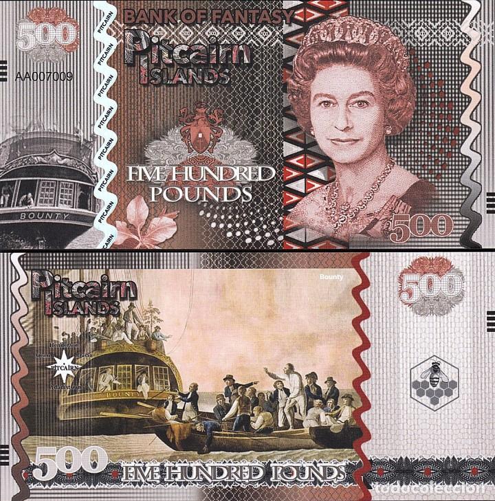 PITCAIRN ISLANDS 100 POUNDS 2018 UNC QUEEN ELIZABETH II