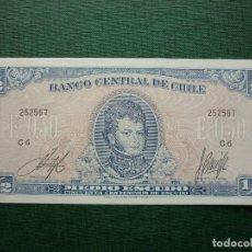 Billetes extranjeros: BILLETE DE CHILE, MEDIO ESCUDO (1962-70). Lote 118094667