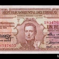 Billetes extranjeros: URUGUAY 1 PESO L.1939 PICK 35 SC UNC. Lote 118590903