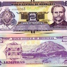Billetes extranjeros: HONDURAS 2 LEMPIRAS 2014 P-97B UNC. Lote 137782388