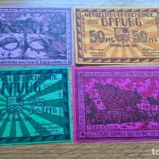 Billetes extranjeros: ALEMANIA. 4 NOTGELD. OPPURG. Lote 120245803