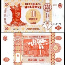 Billetes extranjeros: MOLDAVIA - 10 LEI - AÑO 2009 - S/C. Lote 121788868