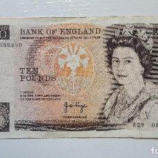 Billetes extranjeros: REINO UNIDO 10 LIBRAS. Lote 120822727