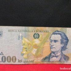 Billetes extranjeros: 1000 LEI 1998 RUMANIA. Lote 121258015
