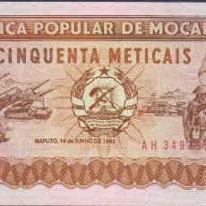 Billetes extranjeros: BILLETES - MOZAMBIQUE - 50 METICAIS 1983 - SERIE AH 3497952 - PICK-129A (SC). Lote 147107830