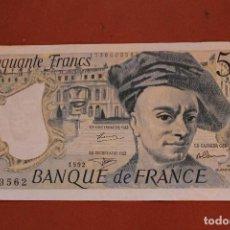 Billetes extranjeros: FRANCIA. 50 FRANCOS. Lote 121471291
