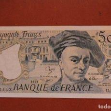 Billetes extranjeros: FRANCIA. 50 FRANCOS. Lote 121471347