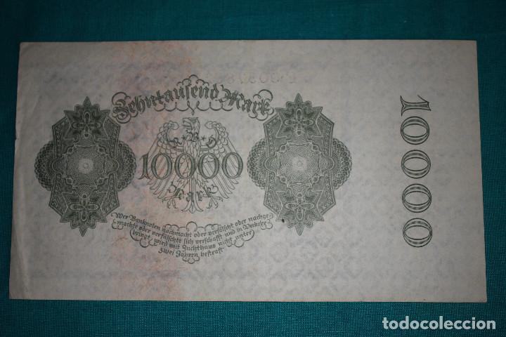 Billetes extranjeros: Alemania Billete de 10000 Marcos 1922 –Llamado –NOSFERATU- - Foto 3 - 121624859