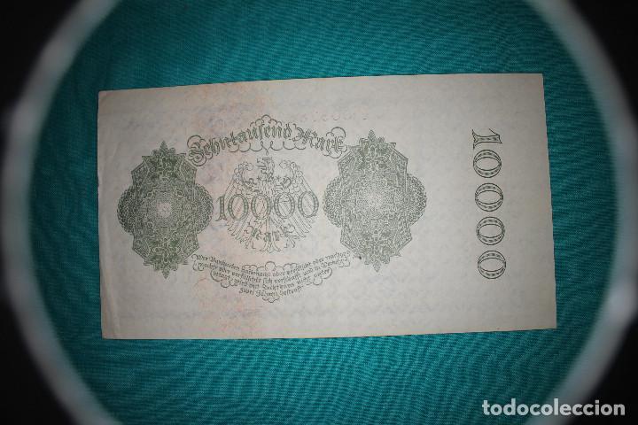 Billetes extranjeros: Alemania Billete de 10000 Marcos 1922 –Llamado –NOSFERATU- - Foto 4 - 121624859