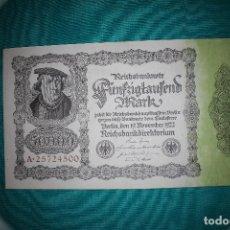 Billetes extranjeros - Alemania Billete de 50000 Marcos 1922 - 121625123