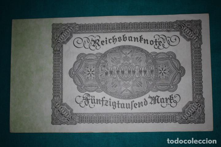 Billetes extranjeros: Alemania Billete de 50000 Marcos 1922 - Foto 3 - 121625123