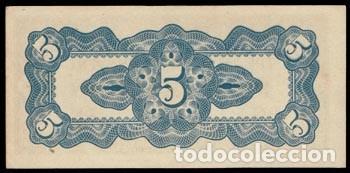 Billetes extranjeros: Filipinas 5 Centavos Pick 103a (1942) Ocupación Japonesa SC- - Foto 2 - 121655455