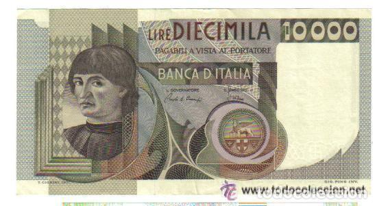 ITALIA 10.000 LIRAS 1976 EBC+ P.106 XF+ (Numismática - Notafilia - Billetes Internacionales)