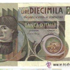 Billetes extranjeros: ITALIA 10.000 LIRAS 1976 EBC+ P.106 XF+ . Lote 121841123