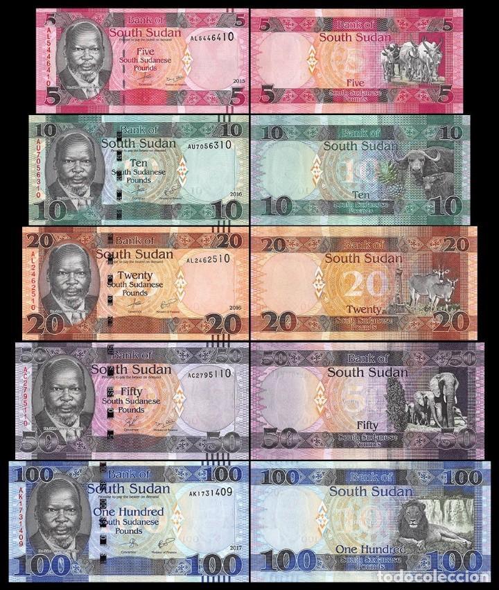 SOUTH SUDAN 2015 UNC 5 South Sudanese Pounds Banknote Paper Money Bill P 6