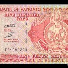 Billetes extranjeros: VANUATU 500 VATU 1993(2006). PICK 5B. SC. UNC. (SIN CIRCULAR). Lote 122709899