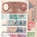 Billetes extranjeros: LOTE 7 BILLETES DE ARGENTINA DE DISTINTOS VALORES Y DISTINTAS FECHAS. CONSERVACIÓN DE BC A PLANCHA. Lote 124077819