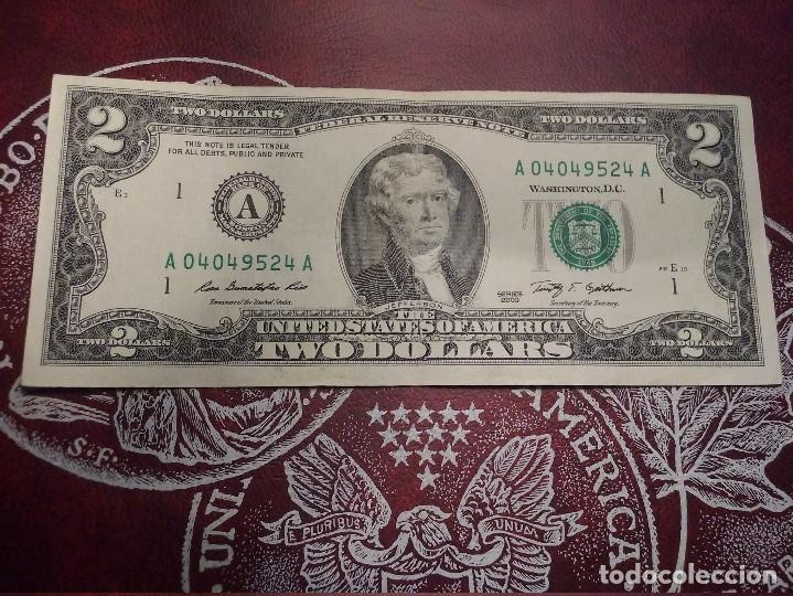 EUA - 2 DOLLARS - EBC (Numismática - Notafilia - Billetes Extranjeros)
