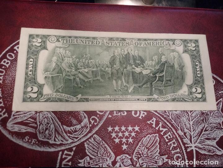 Billetes extranjeros: EUA - 2 DOLLARS - EBC - Foto 2 - 124893415