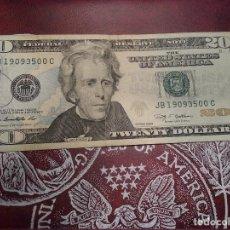 Billetes extranjeros: EUA - 20 DOLLARS - EBC. Lote 139236716