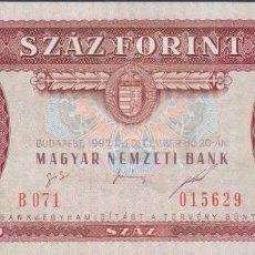 Billetes extranjeros: BILLETES - HUNGRIA - 100 FORINT 1995 - SERIE B071-015628 - PICK-174C (SC). Lote 192142372