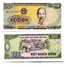 Billetes extranjeros: OFERTA- VIETNAM 5 X 1000 DONG 1988 (1989) P-106 SIN CIRCULAR . Lote 127442171
