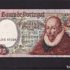 Billetes extranjeros: PORTUGAL : 500 ESCUDOS 4 0CT.1979. SC.UNC. PK.177 A. Lote 127566763