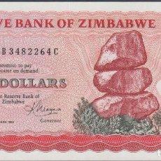 Billetes extranjeros: BILLETES - ZIMBABWE - 10 DOLLARS 1983 - SERIE CB 3482264 C - PICK-3D (SC). Lote 179642055