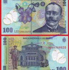 Billetes extranjeros: RUMANIA 100 LEI 2018 PICK NUEVO - SC. Lote 128996239