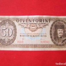 Billetes extranjeros - Hungria. billete de 50 florines 1980 - 129070559