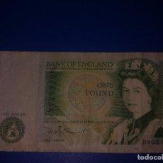 Billetes extranjeros: 1 LIBRA INGLESA. Lote 129259663